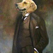 Doggone Executive Art Print