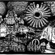 Dogon Dream Art Print by Matthew Ridgway