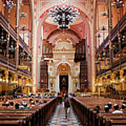 Dohany Street Synagogue In Budapest Art Print