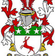 Doherty Coat Of Arms Irish Art Print