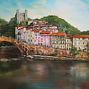 Dolceacqua Italy Art Print