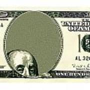 Dollar Peek A Boo Art Print