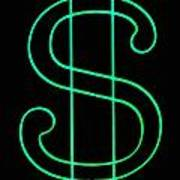 Dollar Sign Art Print