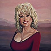 Dolly Parton 2 Art Print