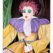 Dollydoll Of Hearts Art Print