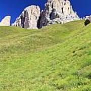 Dolomites - Grohmann Peak Art Print