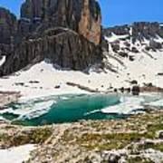 Dolomites - Pisciadu' Peak Art Print