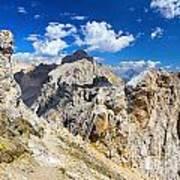 Dolomiti - Costabella Mount Art Print