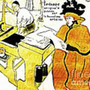 Domain-le Stamp Art Print