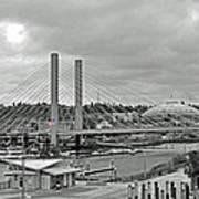 Dome And Bridge Art Print