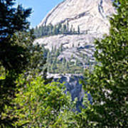 Dome Next To Half Dome Seen From Yosemite Valley-2013 Art Print