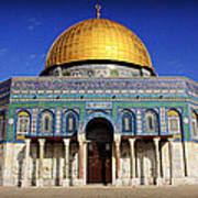 Dome Of The Rock Art Print
