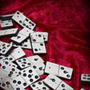 Dominoes Art Print