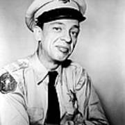 Don Knotts In The Andy Griffith Show  Art Print by Silver Screen