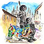 Don Quijotes New Pet Art Print