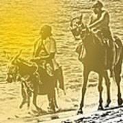 Don Quixote Rides Again Art Print
