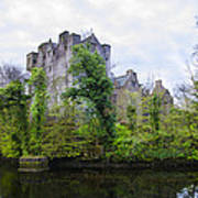 Donegal Castle In Donegaltown Ireland Art Print