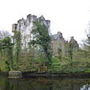Donegal Castle Ruins Art Print
