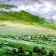 Donegal Hills Art Print