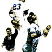 Donnie Baseball  Don Mattingly Art Print by Iconic Images Art Gallery David Pucciarelli