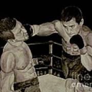 Donovan Boxing Art Print