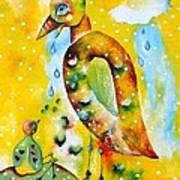 Don't Worry Big Big Bird Art Print