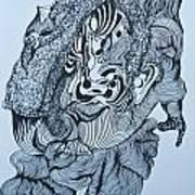 Doodle - 04 Art Print