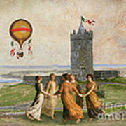 Doonagore Maidens Art Print