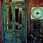 Door Guard Art Print