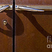 Door Handle Shadows   #0969 Art Print