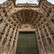Door Of Assumption Of The Seville Cathedral Art Print