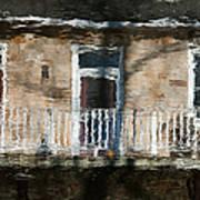 Door Reflections 2 In Perth Ontario Art Print
