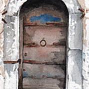 Door Series - Door 3 - Sarajero Art Print
