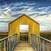 Door To The Marshlands Art Print