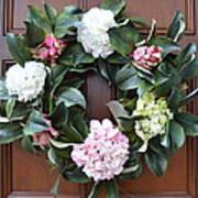 Door Wreath Art Print