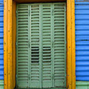 Doors And Windows Buenos Aires 14 Art Print
