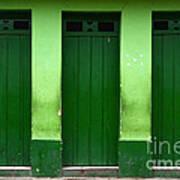 Doors And Windows Lencois Brazil 1 Art Print