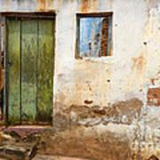 Doors And Windows Lencois Brazil 4 Art Print