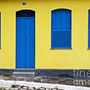 Doors And Windows Lencois Brazil 8 Art Print