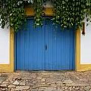 Doors And Windows Minas Gerais State Brazil 11 Art Print
