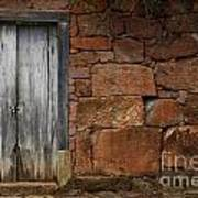Doors And Windows Minas Gerais State Brazil 3 Art Print