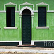 Doors And Wndows Lencois Brazil 7 Art Print