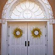 Doors Of San Francisco De Asis Art Print
