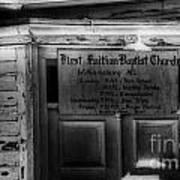 Doors Of Worship Art Print