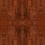 Doors Of Zanzibar Cayenne Art Print