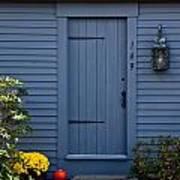 Doorway In Maine Art Print