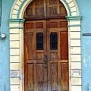 Doorway Of Nicaragua 001 Art Print
