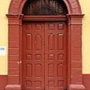 Doorway Of Nicaragua 004 Art Print