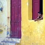 Doorway Of Nicaragua 005 Art Print
