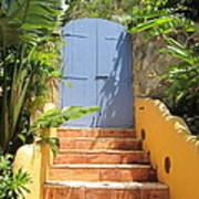 Doorway To Paradise Art Print